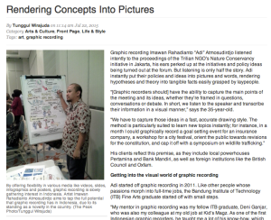 Graphic Recording Indonesia article